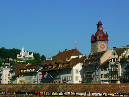 Obiective turistice Elvetia: Orasul vechi Lucerna