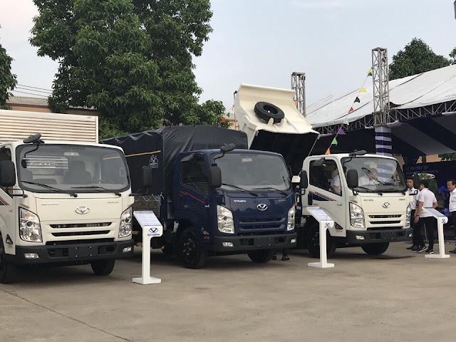 Giới thiệu xe Đô Thành IZ65 tại lễ ra mắt ở nhà máy ô tô Đô Thành