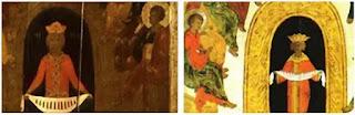Tranh Icon Chúa Thánh Thần hiện xuống