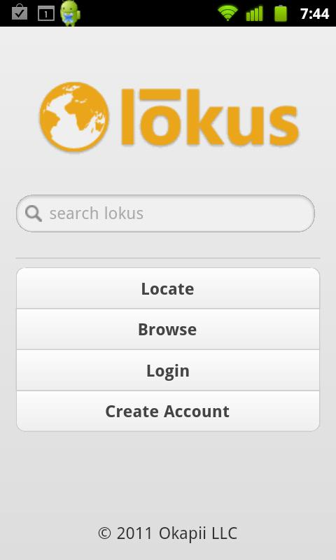 Lokus Beta - screenshot