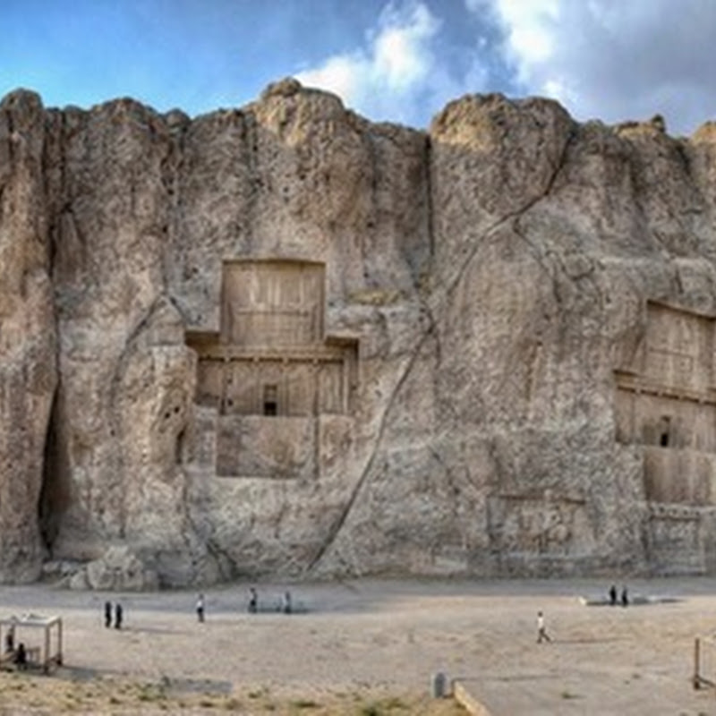 Naqsh-i Rustam: Colossal Tombs of Persian Kings