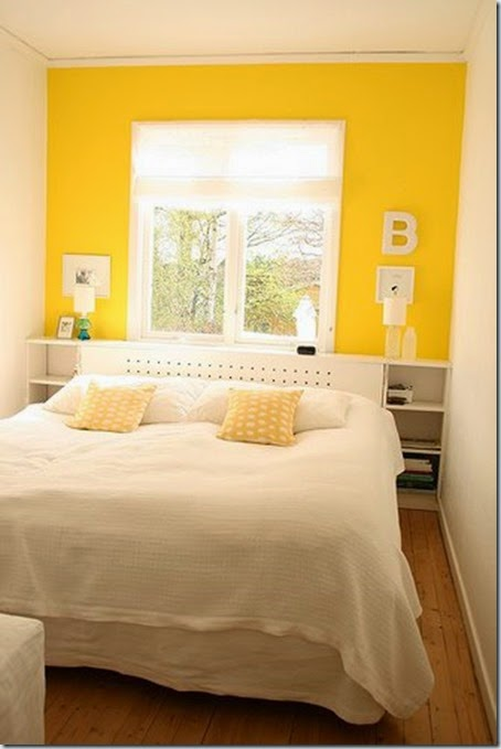 Chez Larsson Yellow Bedroom 2