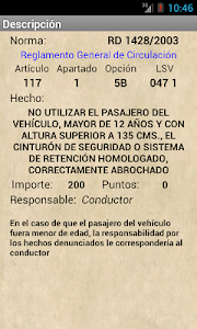 Codificado Tráfico screenshot 0