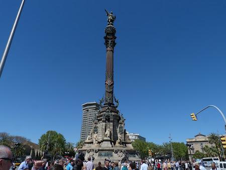 Obiective turistice Barcelona: Statuia lui Columb
