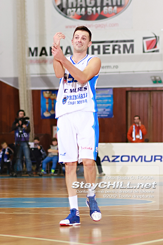 Branko Cuic / BC Mureș - U Mobitelco, 30 noiembrie 2012