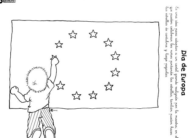 Dibujos Para El Día De Europa