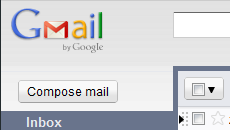 Gmail without the Mail menu