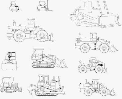 building machine autocad