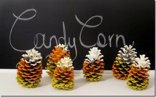 Painted Pinecones {Krafty Kat}