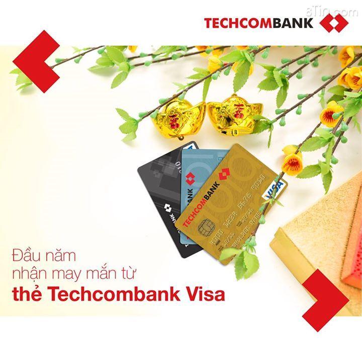 Đi chơi Tết, bạn nhớ dùng thẻ #Techcombank Visa để thanh toán