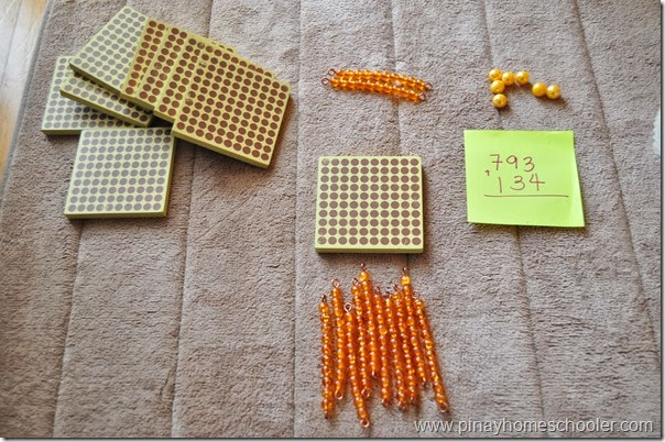DYNAMIC ADDITION USING MONTESSORI GOLDEN BEADS (REGROUPING OF TENS)