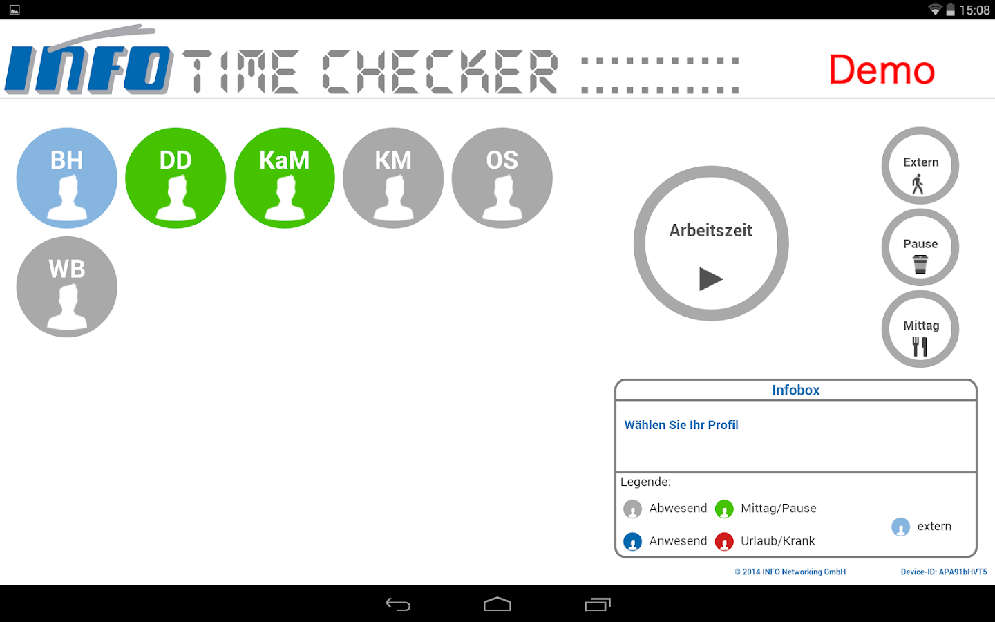 TimeChecker- screenshot