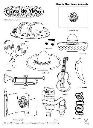 Dibujos Para El 5 De Mayo Actividades Para Niños