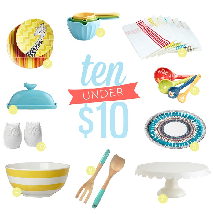 Budget Friendly Kitchen Accessories Under Ten Dollars