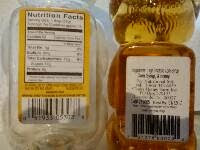 Food Industry Tricks-Product Label ManMade Honey-High Fructose Corn Syrup