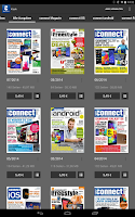 Screenshot of connect Magazin