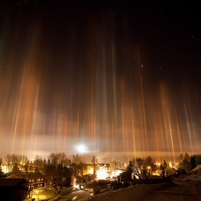 Light pillars, An Incredible Optical Phenomenon