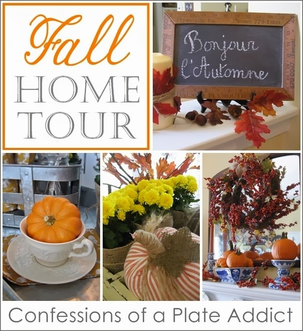 CONFESSIONS OF A PLATE ADDICT Fall Home Tour