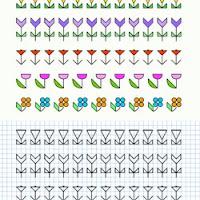 Dibujos En Cuaderno Cuadriculado Para Niños