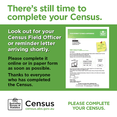 Thanks to everyone who has completed the Census If you havent completed