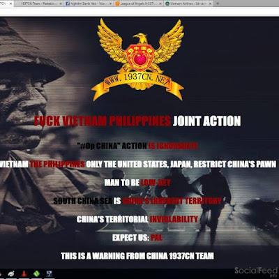 Hacker Trung Quốc tấn công website Vietnam Airlines và hệ thống loa