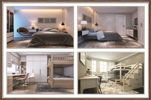 thiết kế phòng ngủ hanoi landmark 51