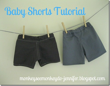 baby shorts, size 6-12 months and 12-18 months (4