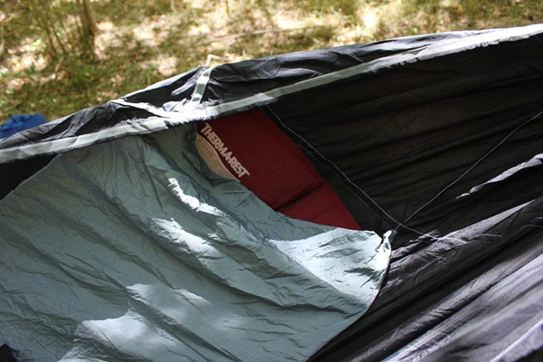 Hammock with mattress