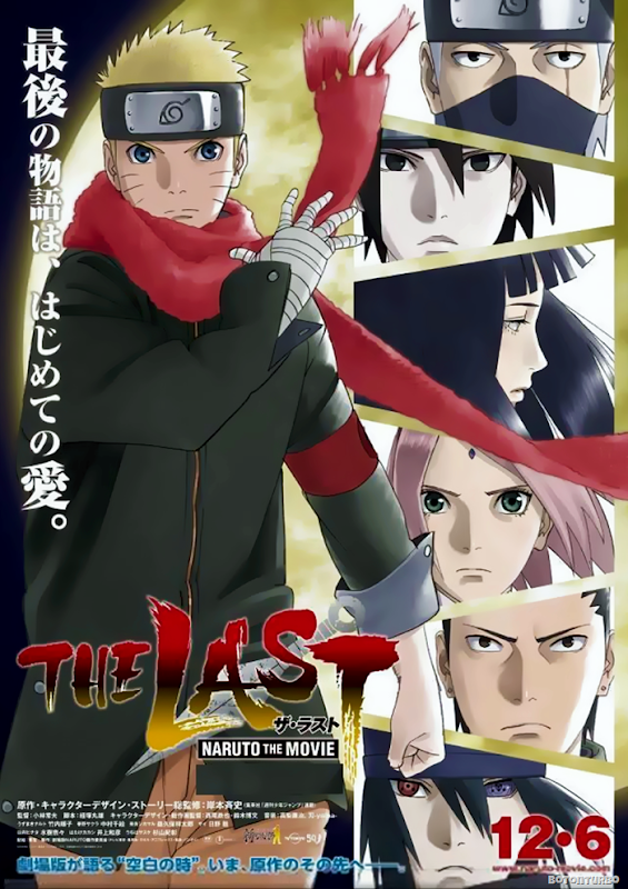 Pelicula Naruto The Last Poster promocional
