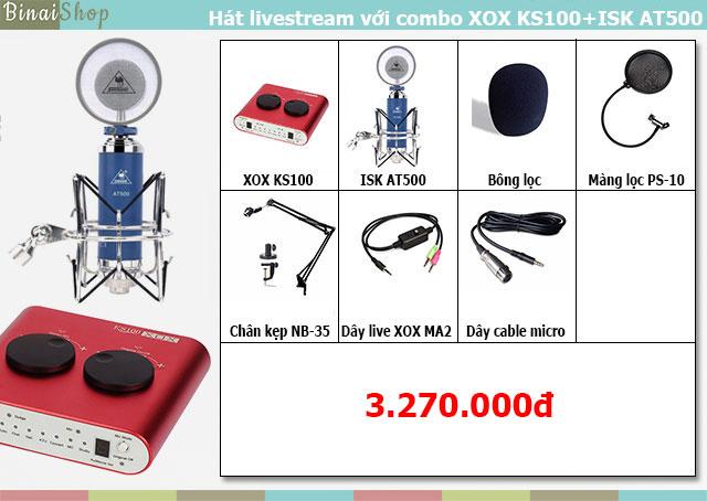 Combo XOX KS100