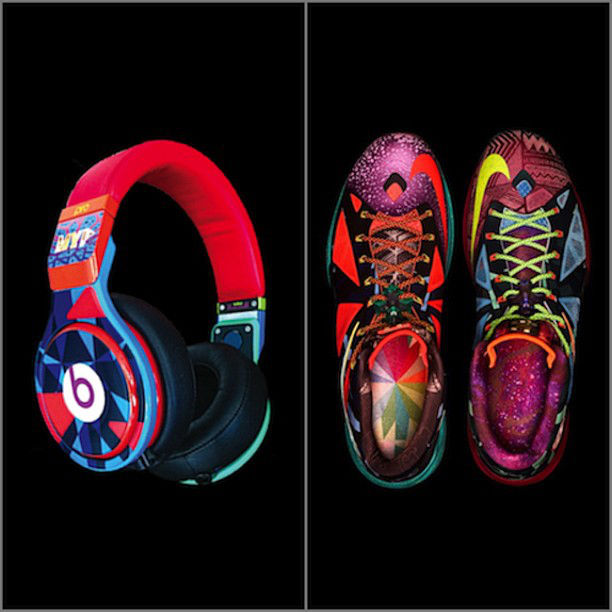 c77219ebeff Beats by Dre for King James Inspired by LeBron X 8220What the MVP8221 ...