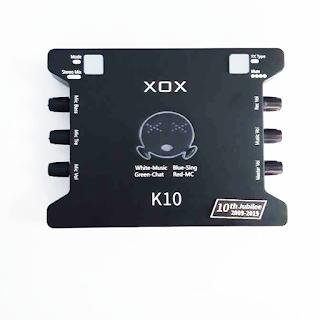 XOX K10 10th Jubilee
