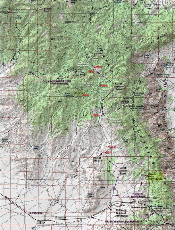 MAP-Lovell Canyon