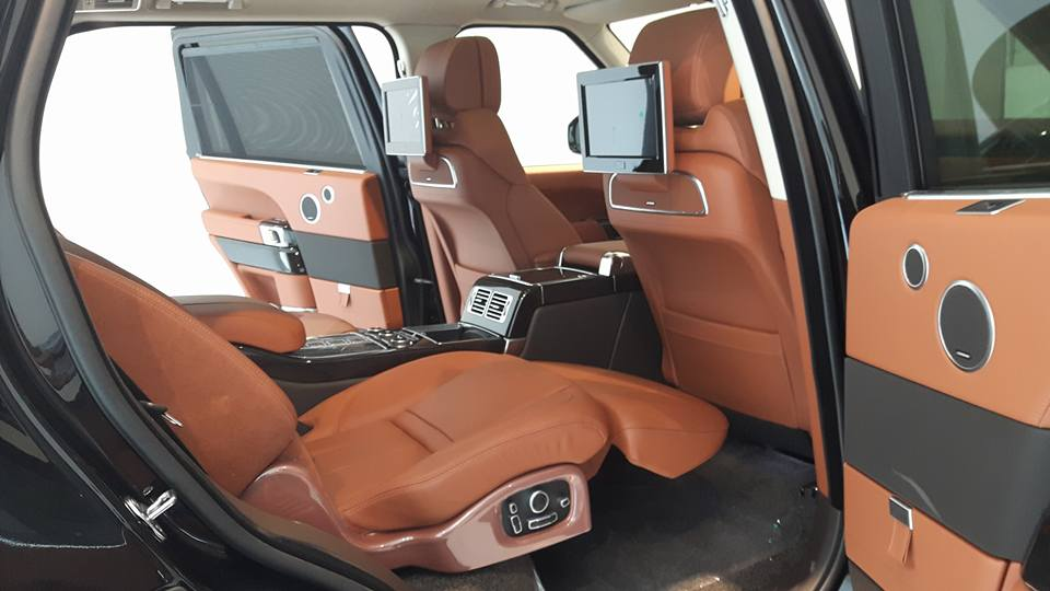 Nội thất xe Land Rover Range Rover SV Autobiograp 011
