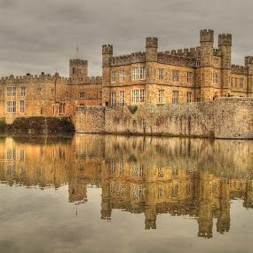 Leeds Castle by Martin Hughes - Buildings & Architecture Public & Historical