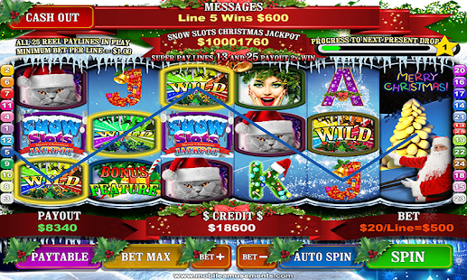 Snow Slots Merry Christmas Santa's Surprise TV- screenshot thumbnail