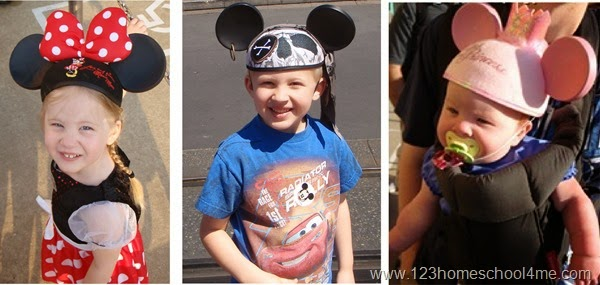 buy mickey ear hats before you go to disney world