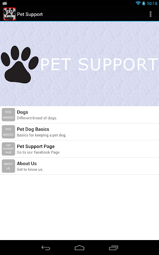 Pet Support