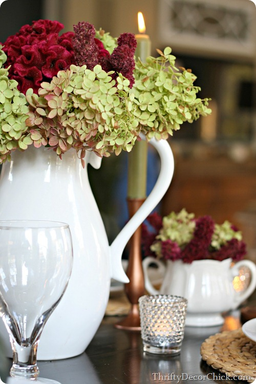 fall tablescape