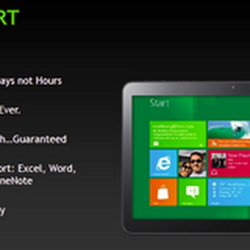 Guida a Windows 8: Windows RT, domande frequenti.