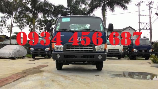 Xe Hyundai Đồng Vàng 3,5 tấn nâng tải