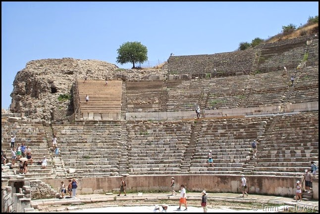Stands of Ephesus Theatre