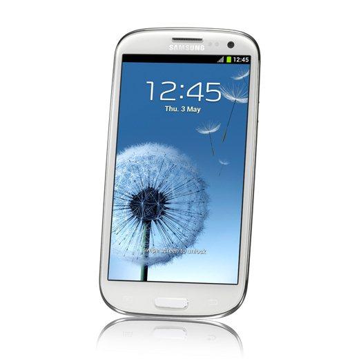 Frontal de lado Samsung Galaxy S3