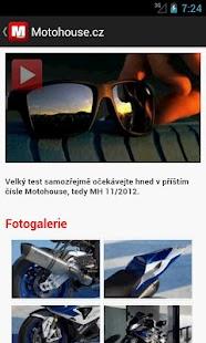 Motohouse.cz- screenshot thumbnail