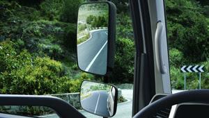 gương cabin xe tải 6,5 tấn qt hyundai