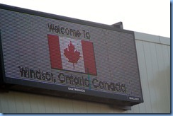 7573 Ontario, Windsor - Canada Customs - Welcome to Windsor, Ontario, Canada