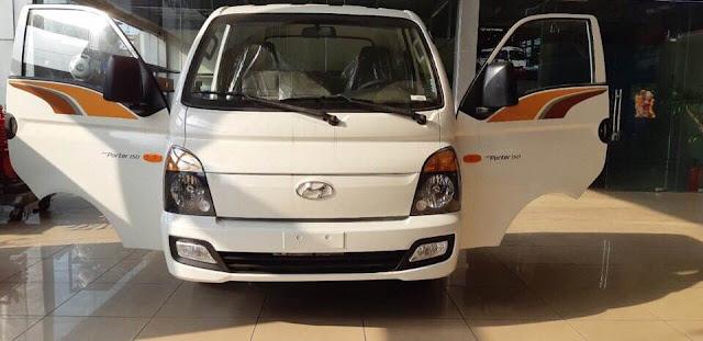 Ngoại thất xe Hyundai 1,5 tấn