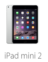 iPad mini 2 Specification: