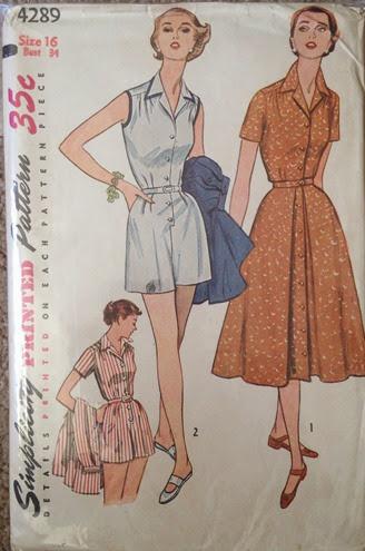 Vintage Simplicity 4289 | Lavender & Twill