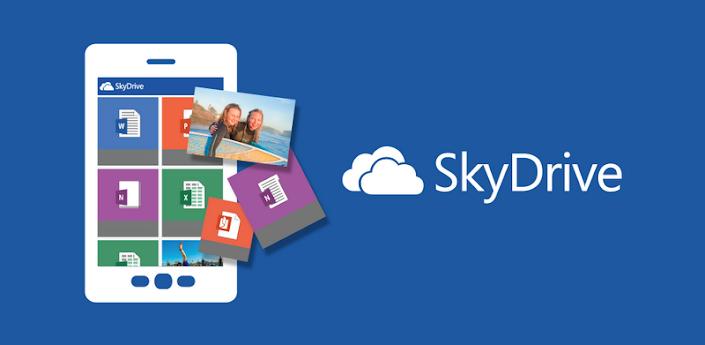 Disponibile l'applicazione ufficiale SkyDrive per Android